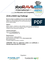 Reglas a Maze Ing 2018