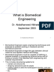What is Bio Medical Engineering