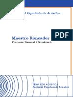 Libro Maestro Roncador
