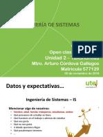 Presentación IS - sem2 - Taxonomías - 09nov2018