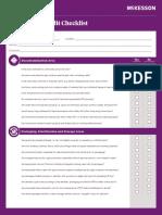 Instrument Sterilization Audit Checklist