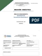 Planeacion didactica (ejemplo)