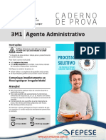 Prova Agente Administrativo