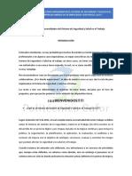 Cafor UNIDAD No. 1 Generalidades Del Sistema de Seguridad y Salud en El Trabajo