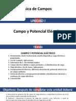Unidad i. Campo y Potencial Electrico