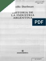 Historia de la Industria Argentina - Adolfo Dorfman.PDF