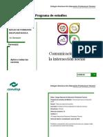 3. Comunicacion Para La Interaccion Social_Programa de Estudio