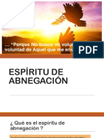 Espiritu de Abnegacion