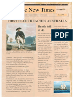 First Fleet Front Page