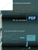 presentacion ajustes poligonales