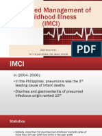 IMCI -Integrated Management of Childhood Illness
