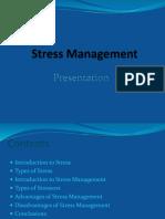 Stress Management Ppt Final