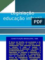 educação infantil legislação
