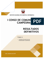 censo comunidad campesina