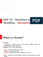 Simulation and System modeling