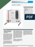 HM 150.01 Friccin de Tubo en Un Flujo Laminar Turbulento Gunt 548 PDF 1 Es ES