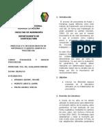 Primer Informe de Posco