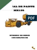 MANUAL DE PARTES DUMPER MH135 OPTIMUS