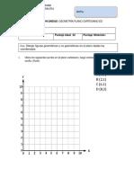 Prueba Geometria Plano Cartesiano 1 Ed