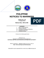 Philippine Notices to Mariners (August 2019 Edition)