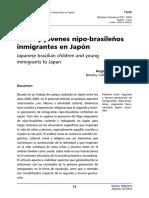 Cordova Quero (2016) - Ninos Jovenes Nipobrasilenos Inmigrantes Japon