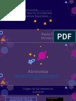 Investigación de Astros