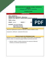 Formato Plan de Clases Actualizado 2019 Alba