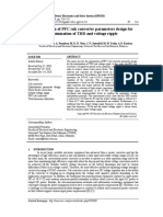 Optimization of PFC cuk converter parameters design for minimization of THD and voltage ripple
