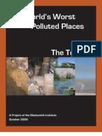 Siti più inquinati 2006