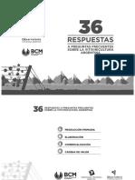 36 Preguntas Sobre Vitivinicultura en Argentina