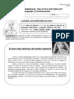 4° GUIA-Clase 80 RELATOS-HISTORICOS-CUARTO