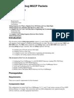 Sample of Debug MGCP Packets