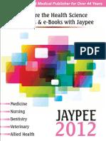 Catalogue Jp Bro Pricelist in Us 2012