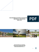 Informe Nacional Turismo Enologico 2013