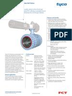 Ball valve FCT