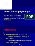 Eps Course Basic Electrophysiology