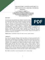 Gestion Sustentable Industria Vitivinicola en Argentina