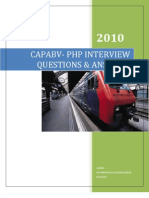 Capabv Php Interview Questions Answers