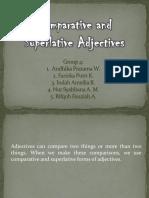 Group 4 Comparative & Suparative Adjective
