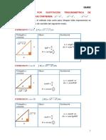 Integraci_n Por Sustituci_n Trigonometrica de Expresiones Que Contienen