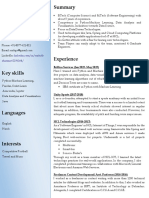 CV machine learning