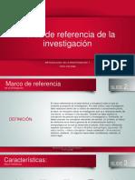 Marco de Referencia Teorico 4 to Sem