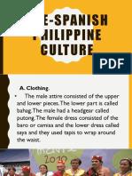 Pre-Spanish Philippine Culture