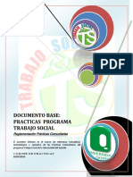 Reglamentación Prácticas Comunitarias T.S 2010 Universidad Del Quindío