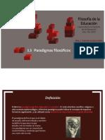 Paradigmas de La FE