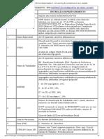 Instruções de Preenchimento do PPP