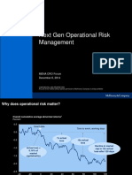 Next Gen Operational Risk Management