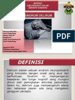 Sindrom delirium