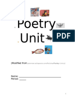 Poetry Unit Internet