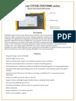 Data Sheet Otdr Fho5000 En
